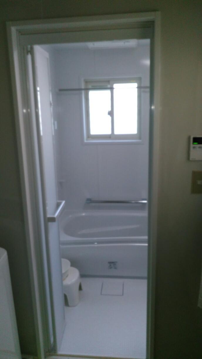 浴室リニューアルで断熱窓同時の工事