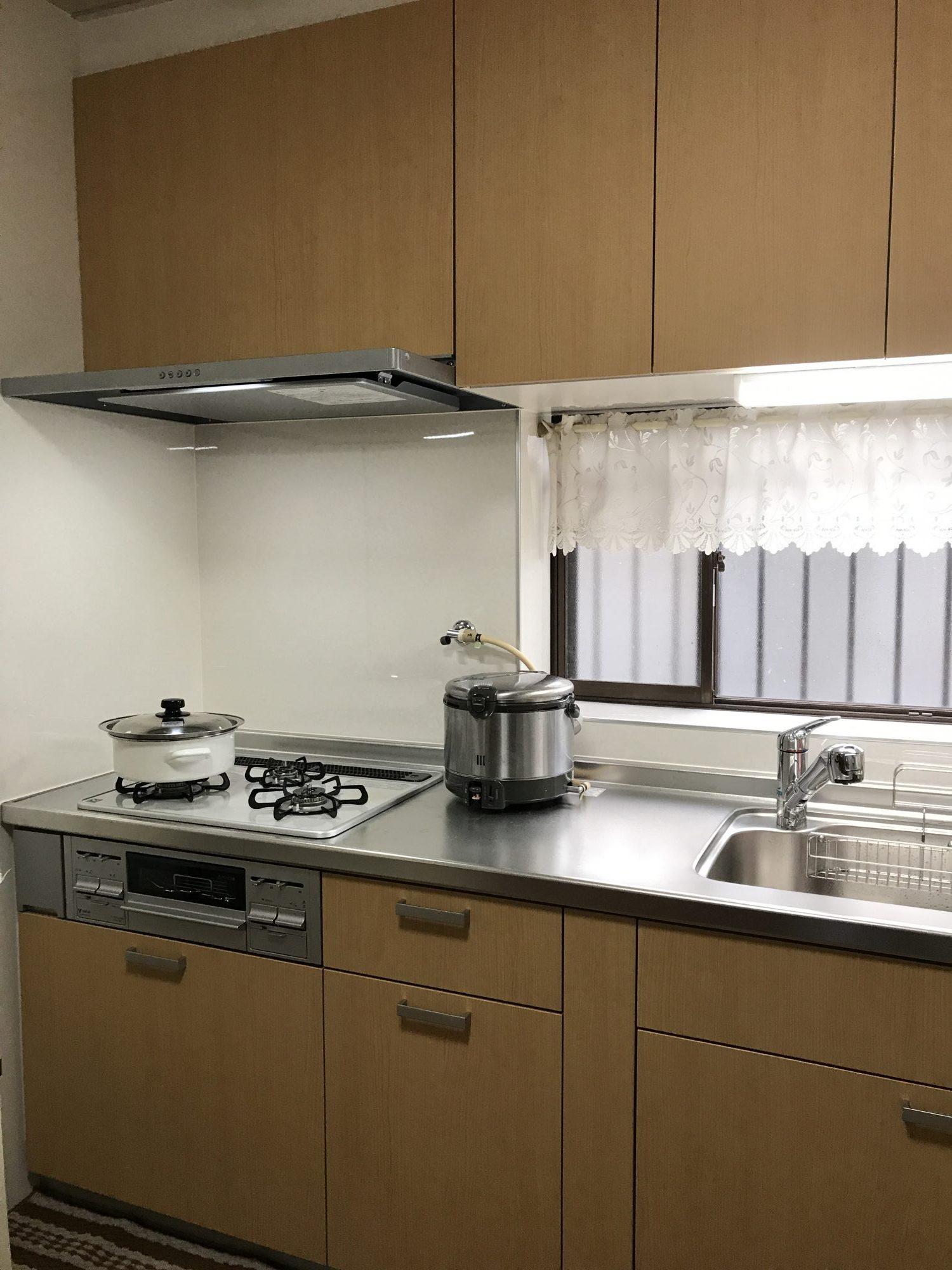 新しいキッチンで毎日快適
