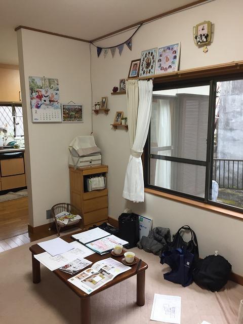 1Fリビング→和室