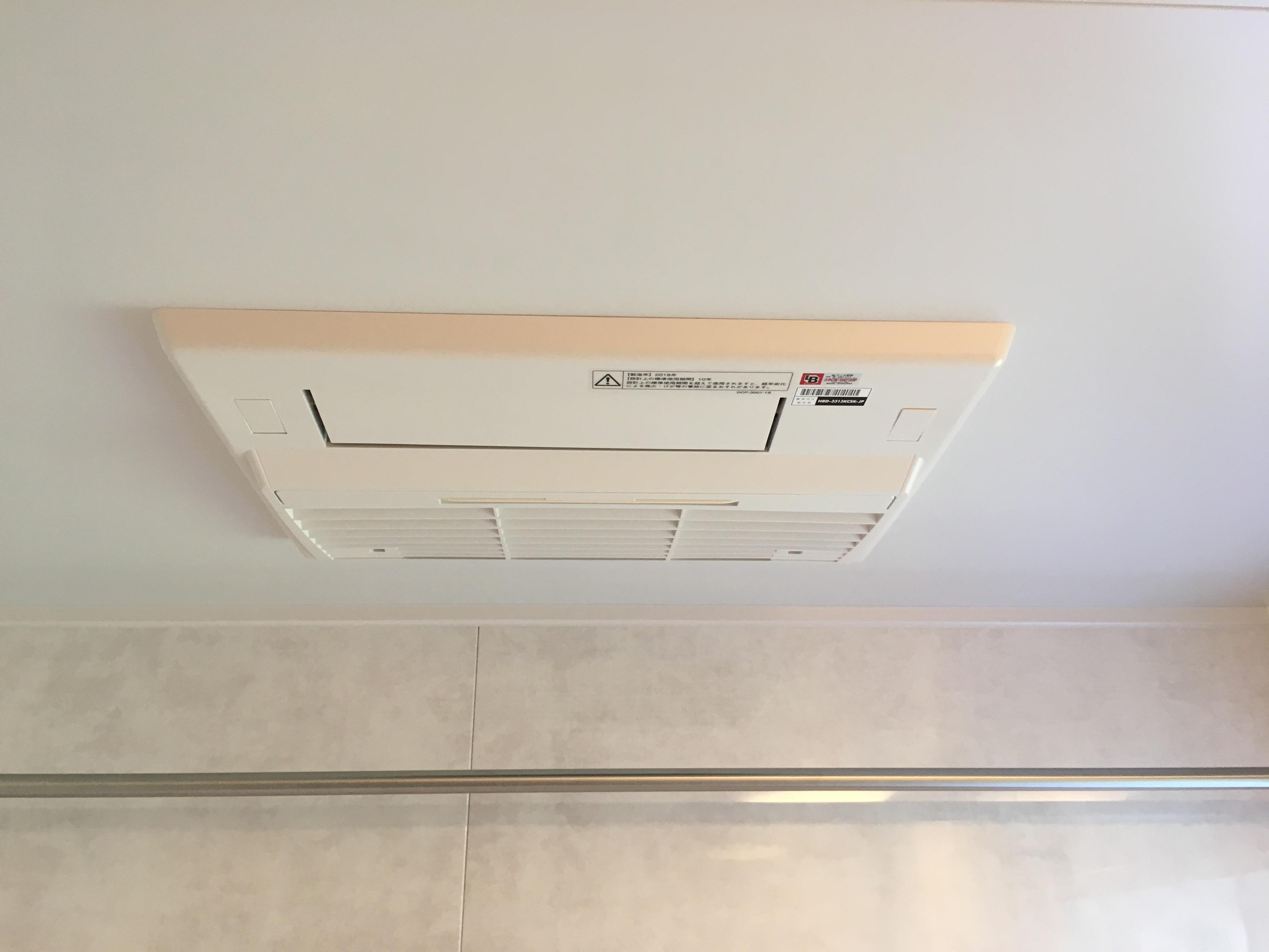 【リンナイ】ガス温水式浴室暖房乾燥機