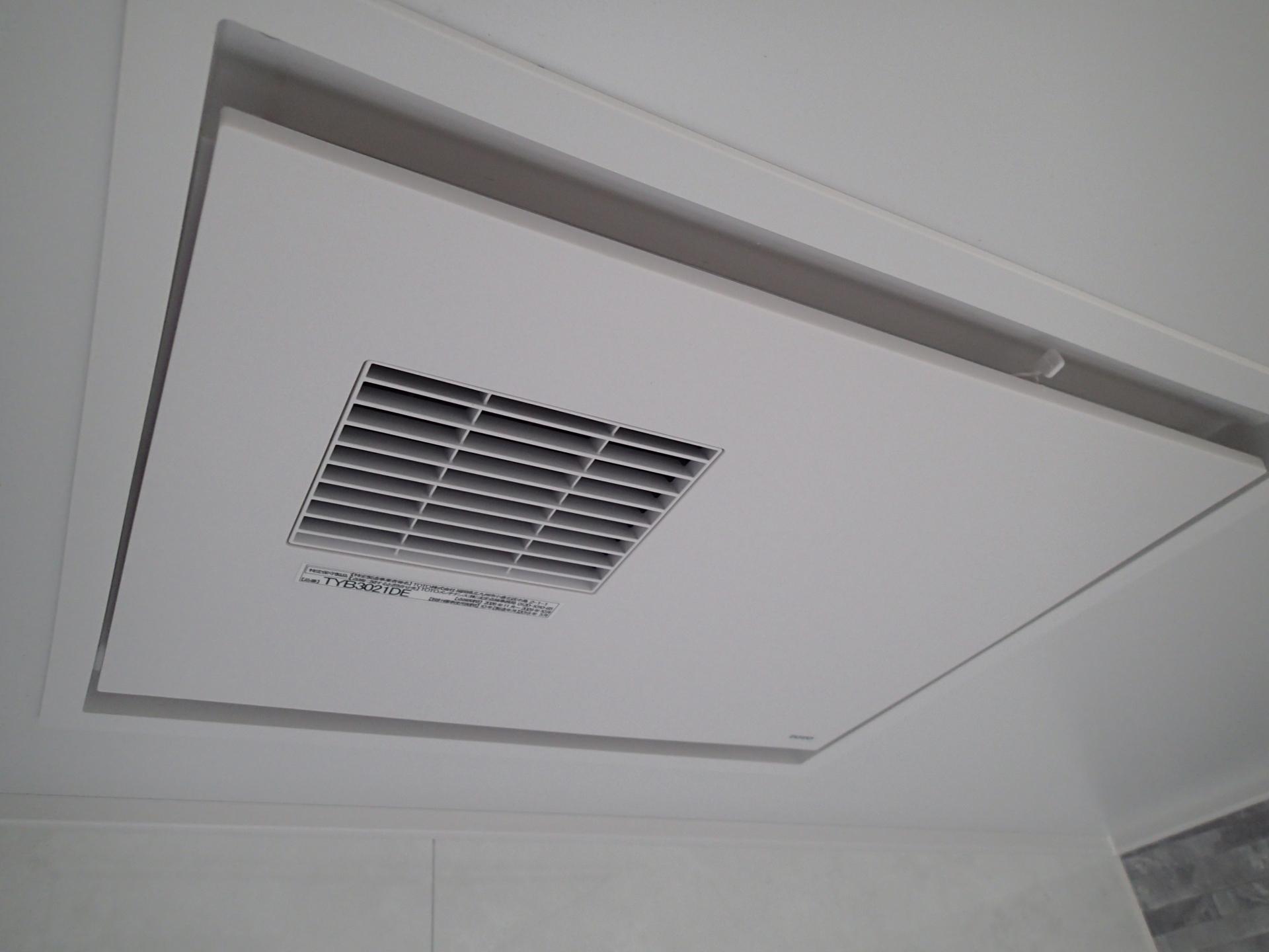 暖房換気扇はパワフルな200Vタイプ