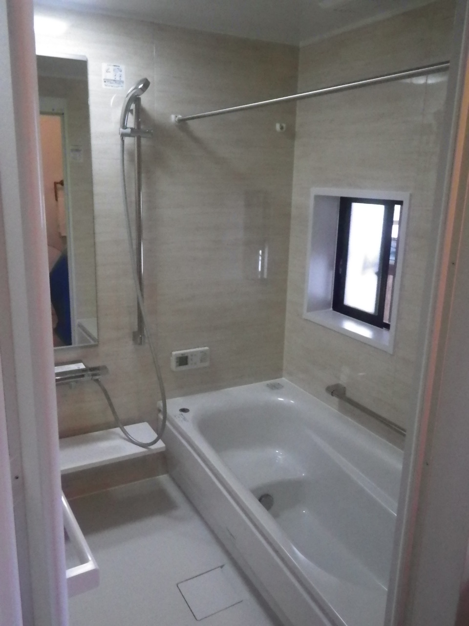 お掃除ラクラク浴室リフォーム