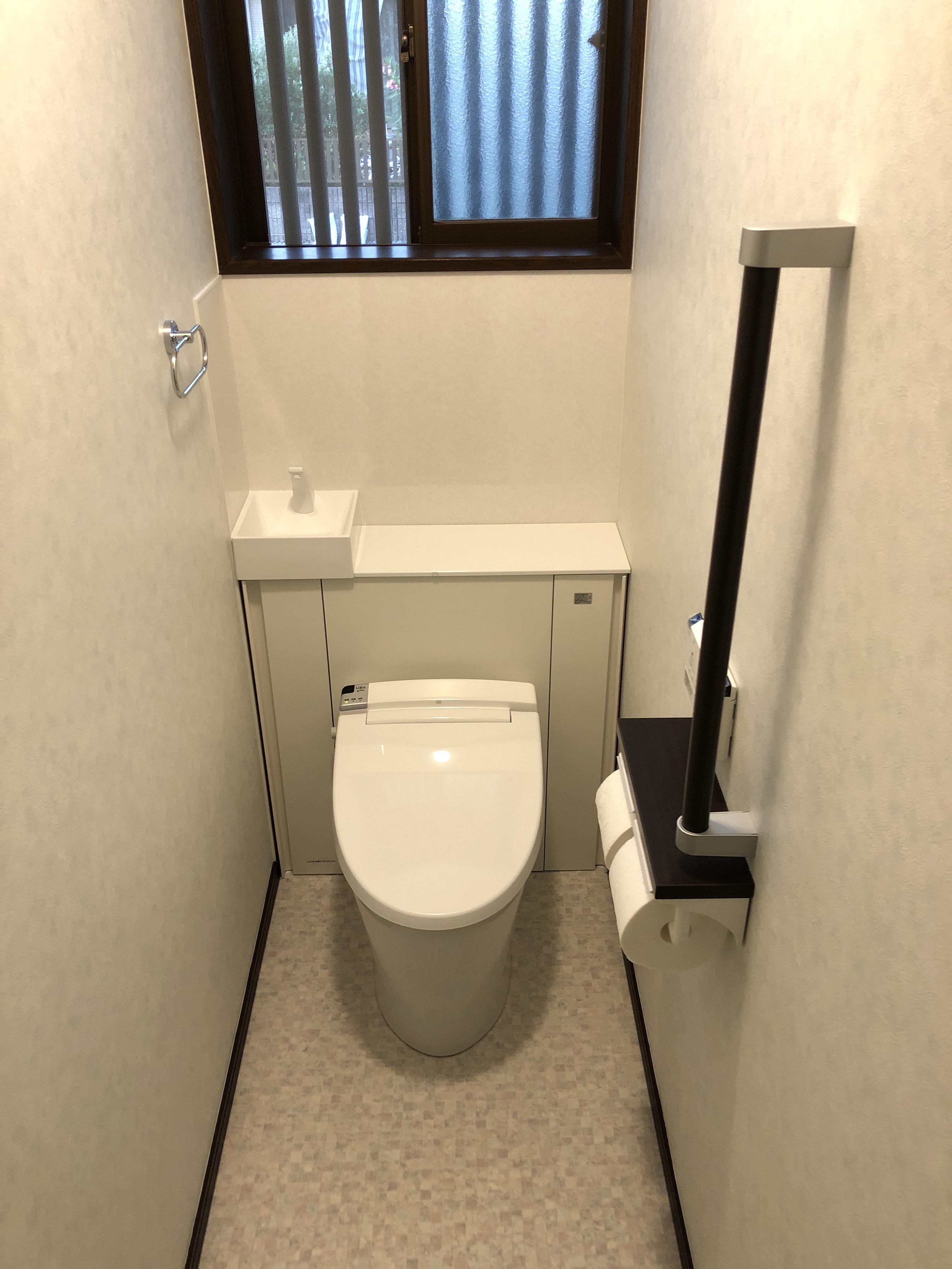 トイレ周りをすっきり