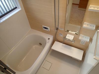 浴室リフォーム(TOTOサザナ1216サイズ)