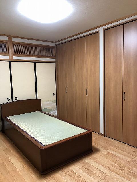 和室→寝室