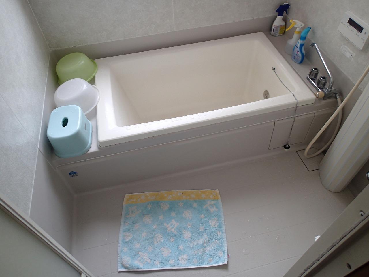 冬は寒かった浴室