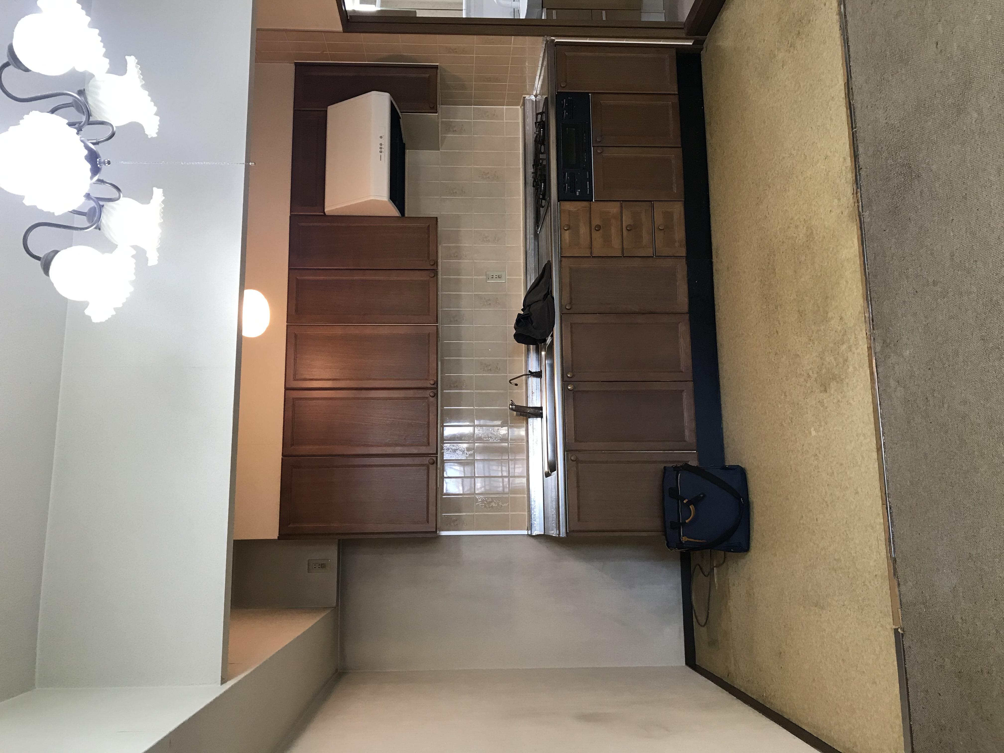 築26年 I型配置の壁付キッチンからのリフォーム