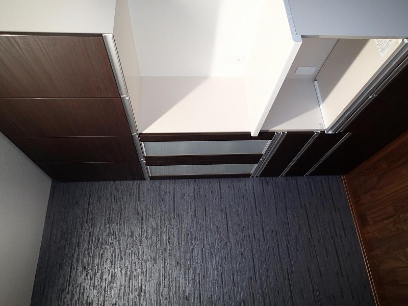 家電収納で調理家電を効率よく収納できます