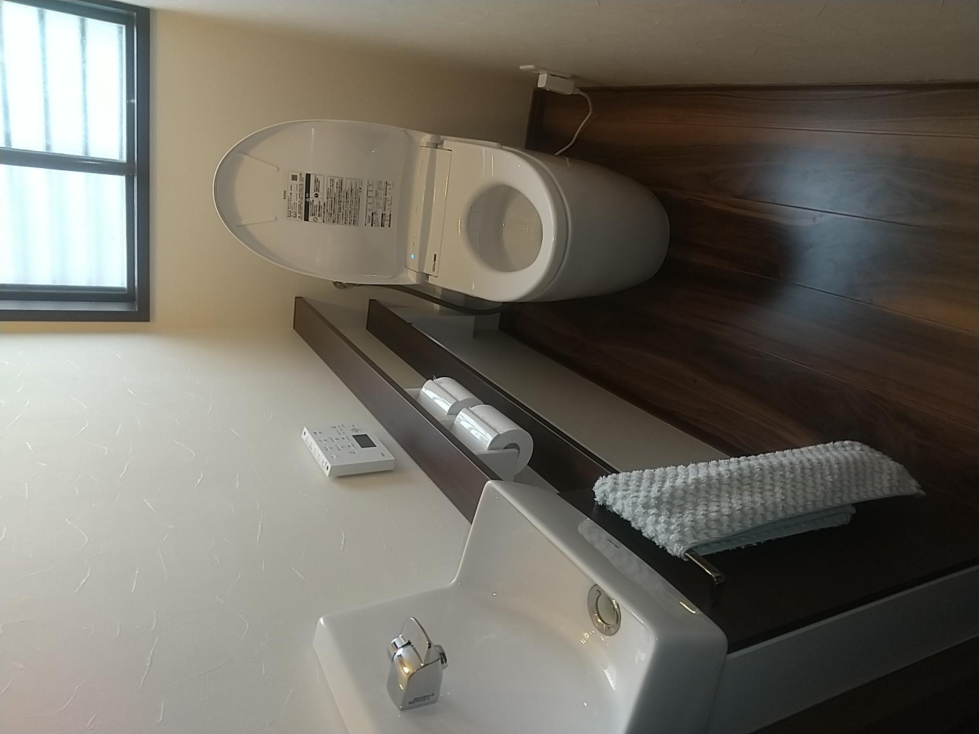 ワンデイリモデル タンクレストイレ完成しました!