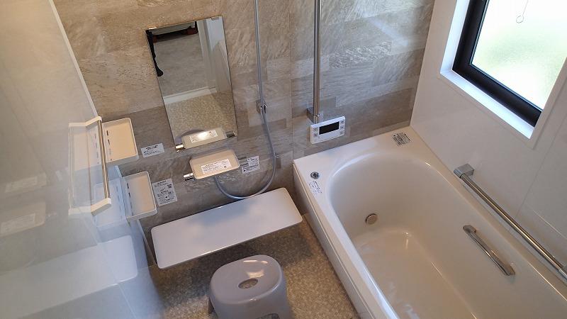 浴槽の大きさはほとんど変わらないとのこと