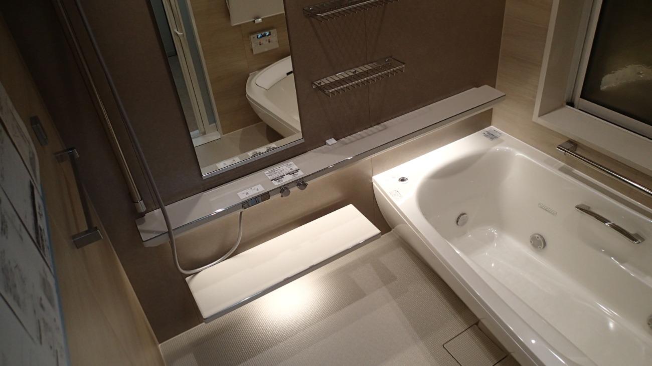 浴室リフォーム工事 (TOTOシンラ1620サイズ)