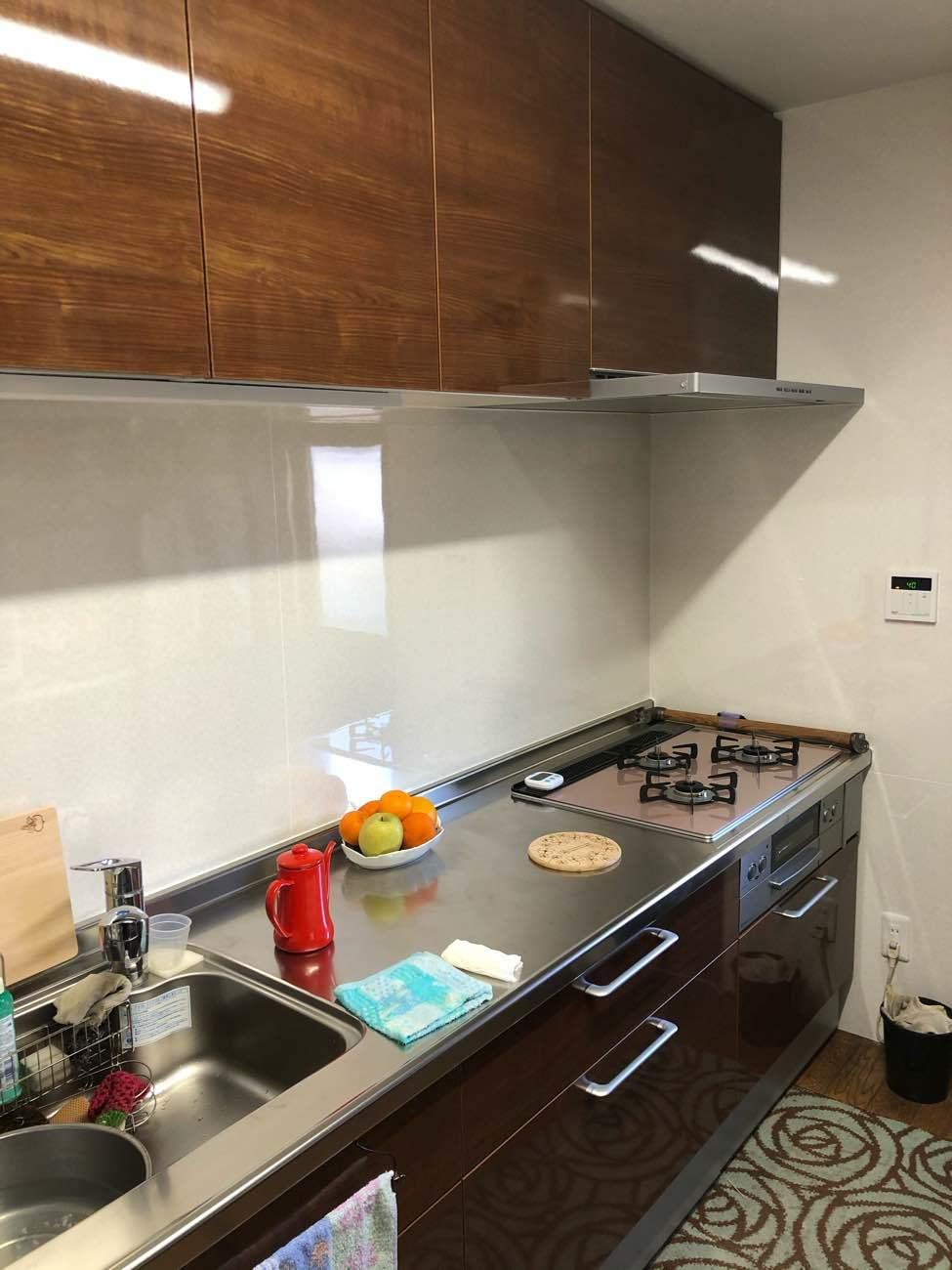 使いやすいキッチンリフォーム