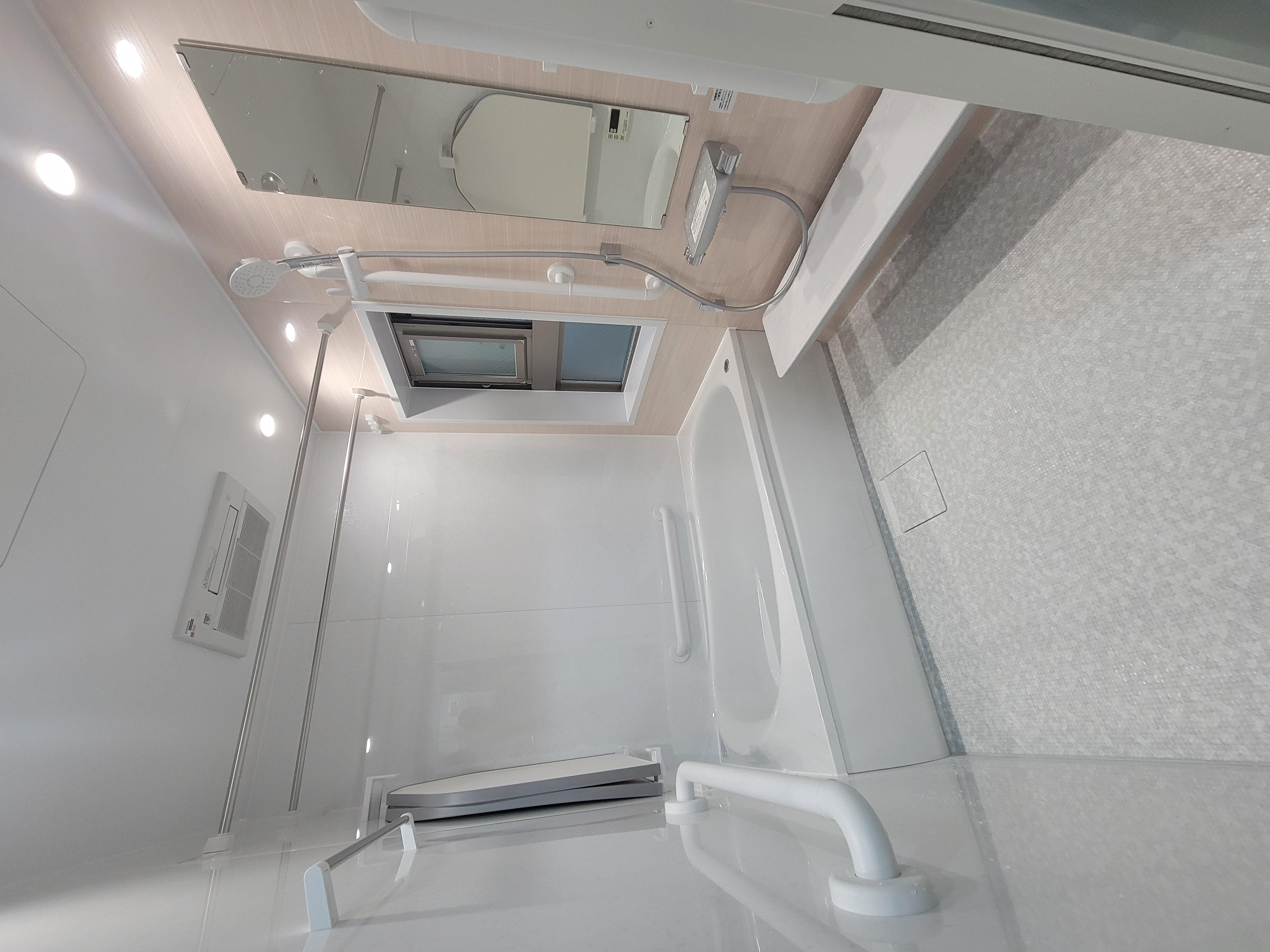 TOTOマンションリモデルバスルームWY1418サイズ