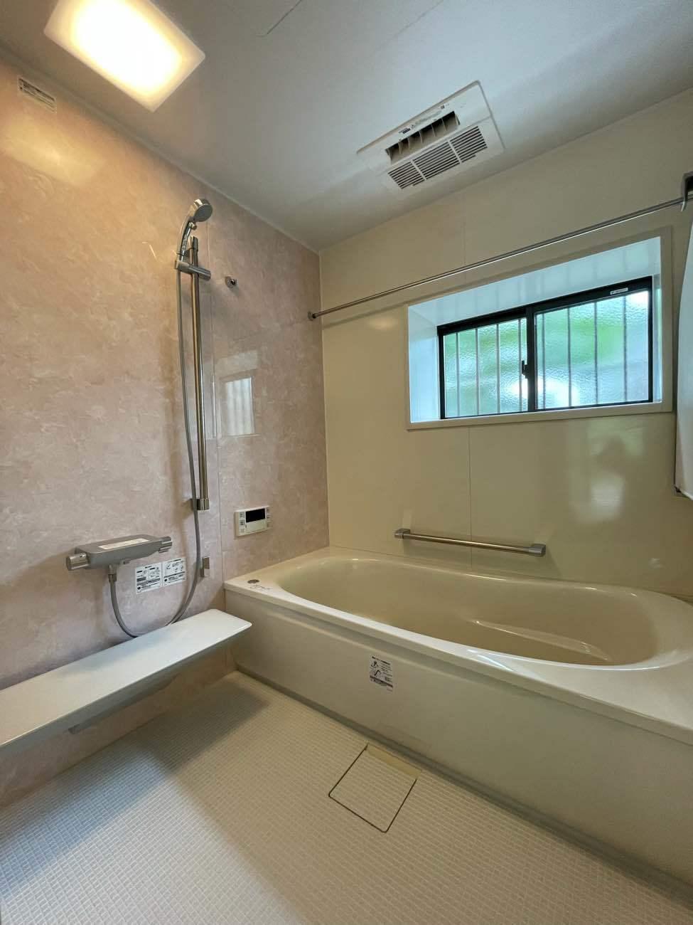 浴室リフォーム工事 (TOTOサザナ1717サイズ)